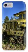 Oregon Yellow Truck IPhone Case
