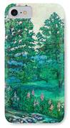 Park Road In Radford IPhone Case
