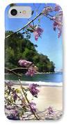 Playa Espadillia Sur Manuel Antonio National Park Costa Rica IPhone Case