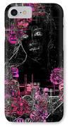 Portrait In Black - S01-02b IPhone Case