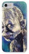 Portrait Of Gollum IPhone Case