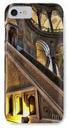 Pulpit In The Aya Sofia Museum In Istanbul  IPhone Case