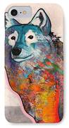 Rainbow Warrior - Alfa Wolf IPhone Case