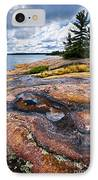 Rocky Shore Of Georgian Bay IPhone Case