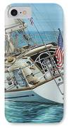 Sailing Away IPhone Case