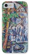 Secluded Waterfall IPhone Case