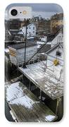 Snow In The South End IPhone Case