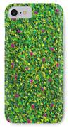 Soft Green With Pink  IPhone Case