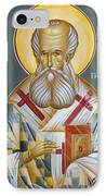 St Gregory The Theologian IPhone Case