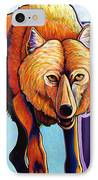 Strictly Business - Arctic Wolf IPhone Case