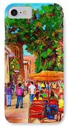 Summer Cafes IPhone Case
