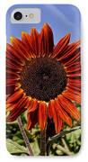 Sunflower Sky IPhone Case