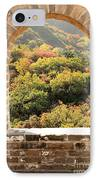 The Great Wall Window IPhone Case