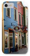 The Shops In Crested Butte IPhone Case