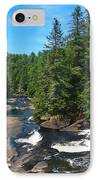 Triple Falls North Carolina IPhone Case