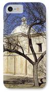 Tumacacori With Tree IPhone Case