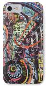 Unread Poem22-abstract Painting IPhone Case