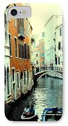 Venice Street Scene IPhone Case