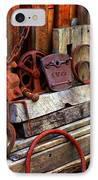 Weathered Rims And Chains IPhone Case