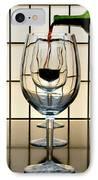 Wine For Three IPhone Case