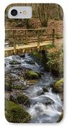 Winter Footbridge IPhone Case