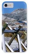 Winter On Horsetooth Mountain IPhone Case