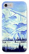 Winter's White Blanket IPhone Case