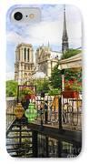 Restaurant On Seine IPhone Case