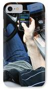 Texting And Driving IPhone Case