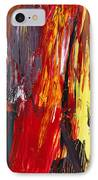 Abstract - Acrylic - Rising Power IPhone Case