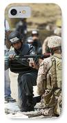 An Afghan Police Student Loads A Rpg-7 IPhone Case