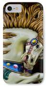 Carousel Horse - 4 IPhone Case