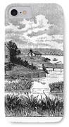 Chicago, 1833 IPhone Case