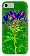 Cleome Gone Abstract IPhone Case