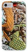 Commercial Fishing Nets And Rope IPhone Case