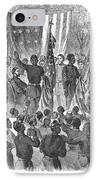 Emancipation, 1863 IPhone Case