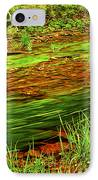 Green Forest River IPhone Case
