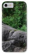 On The Rocks In Central Park IPhone Case