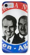Presidential Campaign:1972 IPhone Case