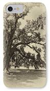 Southern Comfort Sepia IPhone Case
