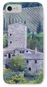 Stone Farmhouse Near Montefioralle IPhone Case