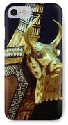 This Gilded Bull Originates IPhone Case