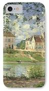 Villeneuve La Garenne IPhone Case