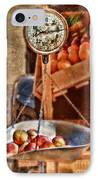 Vintage Scale At Fruitstand IPhone Case
