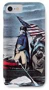 Washington Crossing The Delaware, 1776 IPhone Case