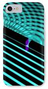 Waves Two Slit 4 IPhone Case