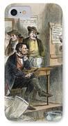 White League, 1874 IPhone Case