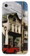 Brady Street Scene IPhone Case