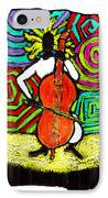Cello Soloist IPhone Case