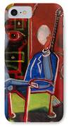 Crucified Starlet And Her Serenading Egg IPhone Case
